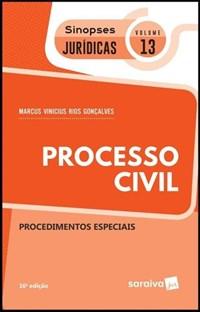 Livro Processo Civil Procedimentos Especiais Vol 13 Sinopses J