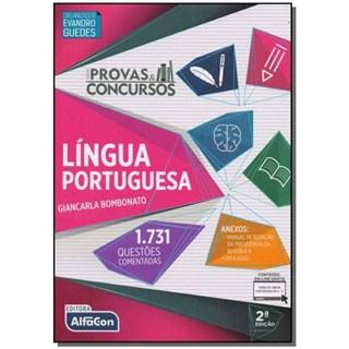 PROVAS E CONCURSOS LINGUA PORTUGUESA - ALFACON