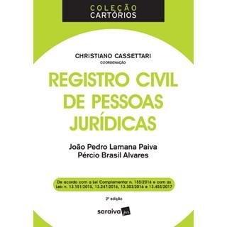 REGISTRO CIVIL DE PESSOAS JURIDICAS - SARAIVA