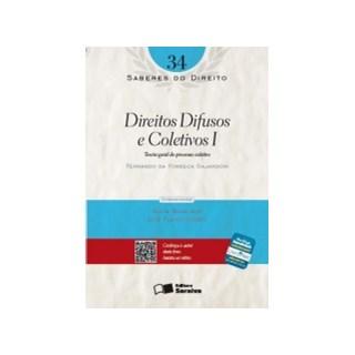 SABERES DO DIREITO 34 - DIREITOS DIFUSOS E COLETIVOS I - SARAIVA
