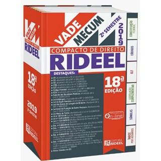 VADE MECUM COMPACTO DE DIREITO - 2019 - RIDEEL