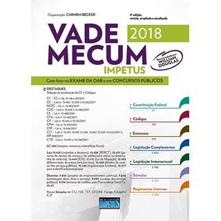 VADE MECUM IMPETUS PARA OAB E CONCURSOS 2018 - IMPETUS