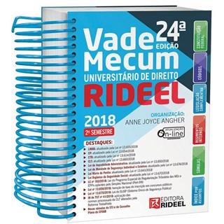 VADE MECUM UNIVERSITARIO DE DIREITO - ESPIRAL - RIDEEL - 24 ED
